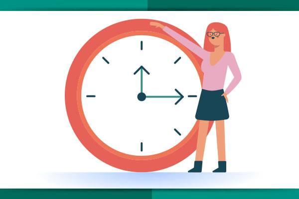 Objetivo: chegar a tempo e organizado.