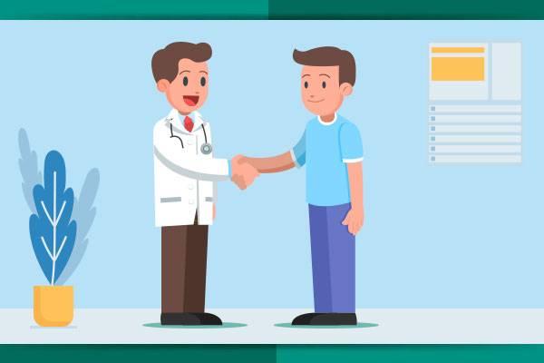 Objetivo: iniciar o tratamento e monitorar os sintomas e eventos adversos.