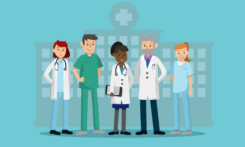 Equipe Interdisciplinar: diferentes profissionais para diferentes problemas.