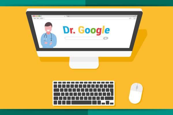 """Vai consultar o """"Dr. Google""""?"""